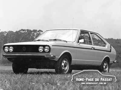 História do Passat - Passat TS 1976