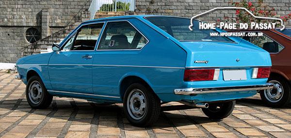 Tabela de cores do Passat: Azul Firenze, cor exclusiva da linha 1976.