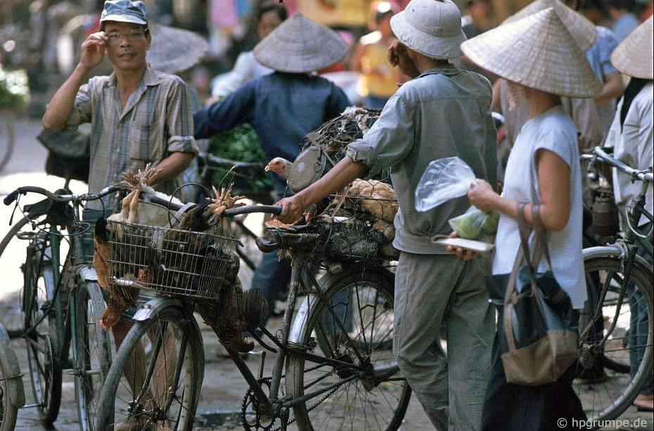 Hà Nội, Việt Nam 1991-1993 @Hans-Peter Grumpe. Bản quyền thuộc tác giả.