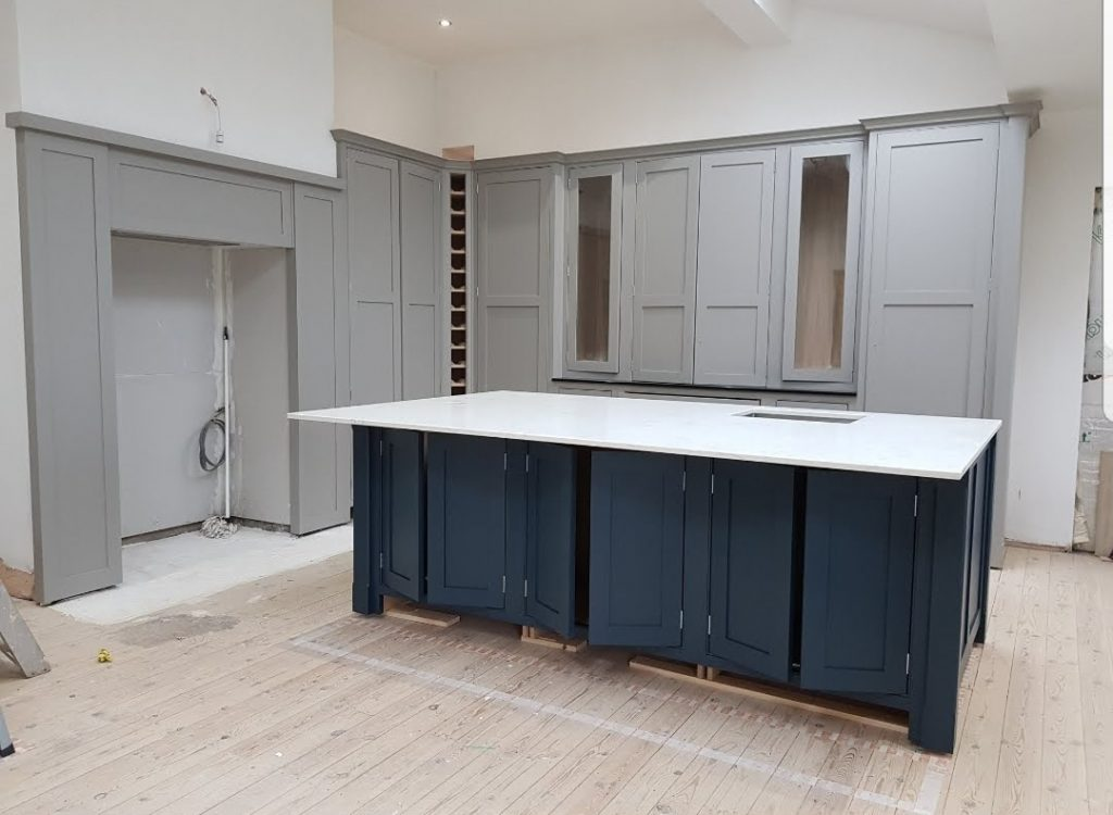 Hand Painted Kitchen In Yorkshire Hand Painted Kitchens Uk Hpkuk Ltd