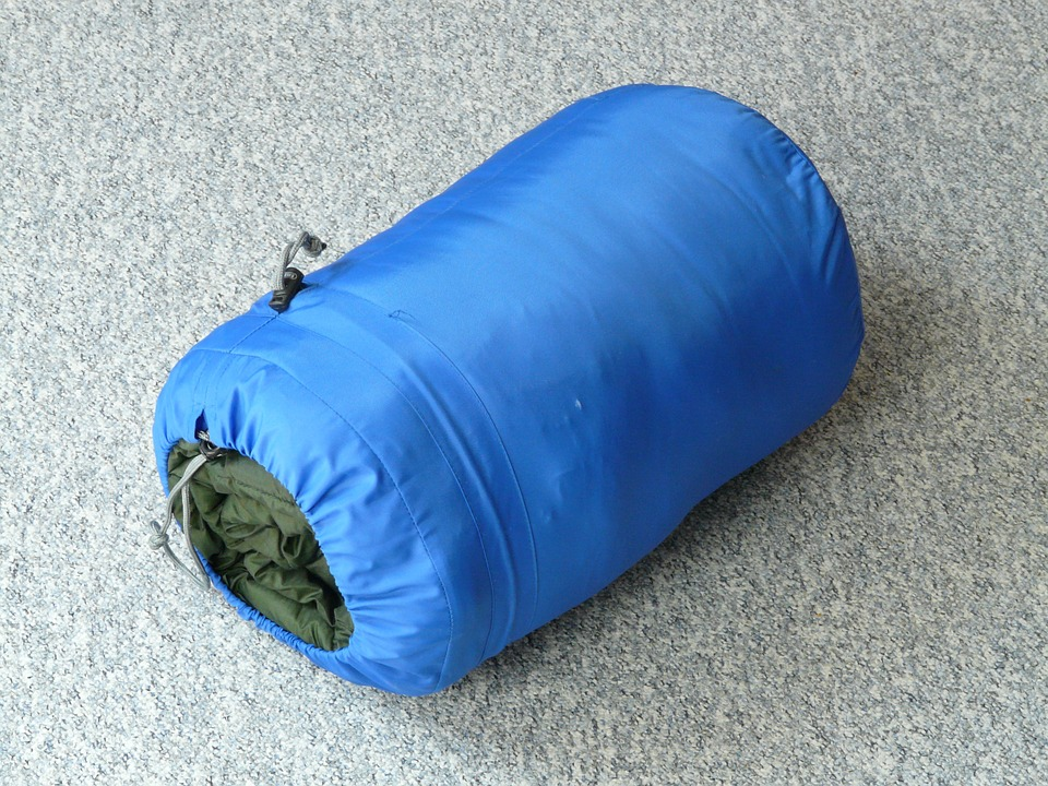 backpack sleeping bag