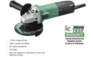 Win a G12STX Angle Grinder in HPM's and Hitachi Tools UK's Twitter competition