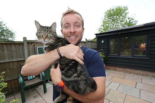 James (and George the Cat)