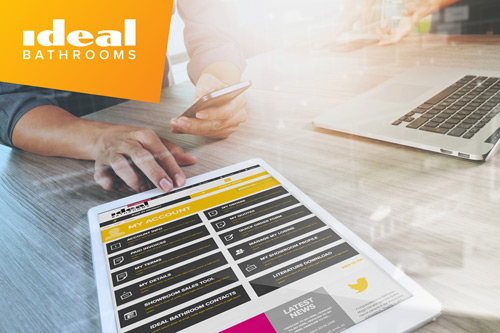 Ideal Bathrooms new web site offers a host of improved functionality