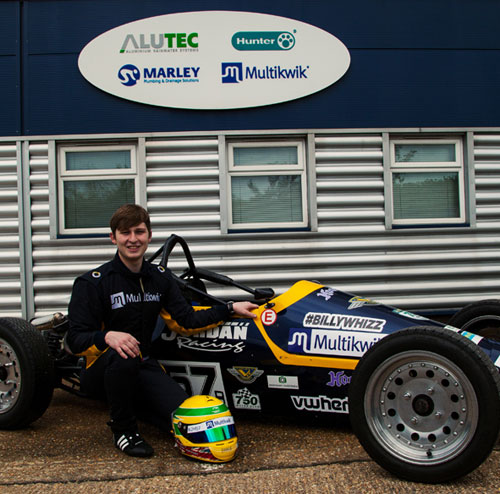 Multikwik is proud to be sponsoring Formula Vee driver, Jamie Harrison