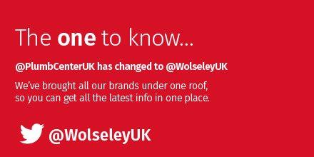 Wolseley Plumb Center is rebranding its twitter feed