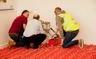 The training scheme takes place over two days