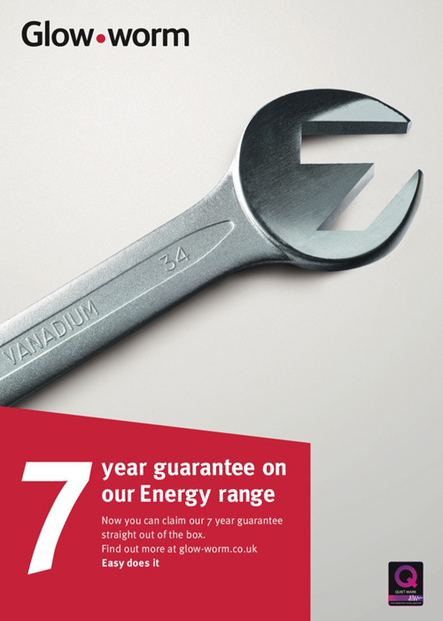 Glow-worm's Energy boilers now come with a seven-year guarantee
