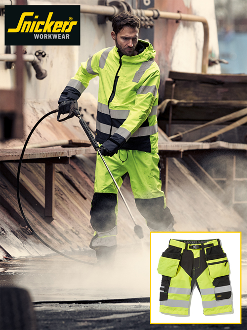 Snickers has launched a new range of cool and functional Hi-Vis summer clothing.