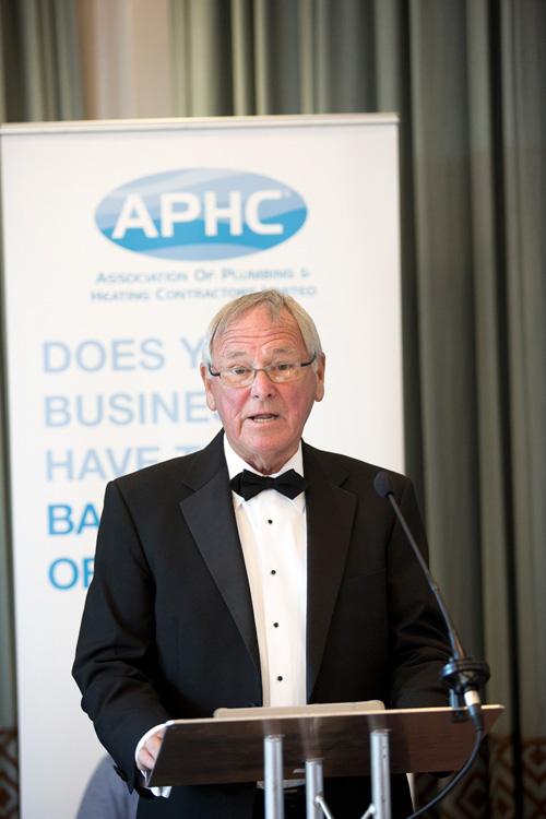 Graham made his speech at APHC's President's Dinner which was held at Rookery Hall Hotel in Nantwich on June 3020.