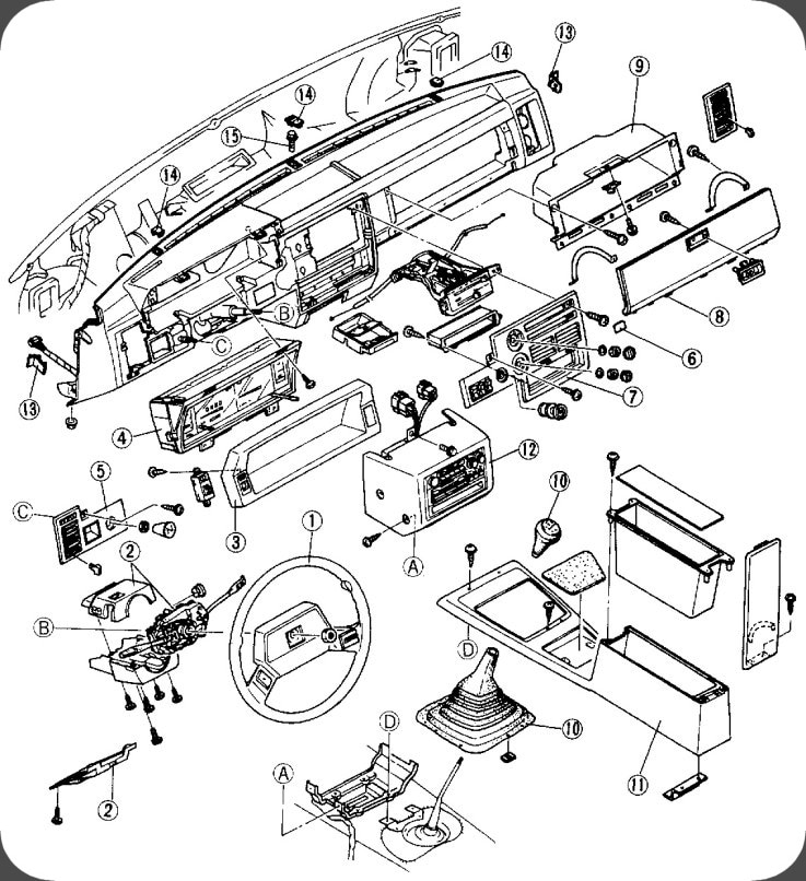 toyota engine cooling diagram