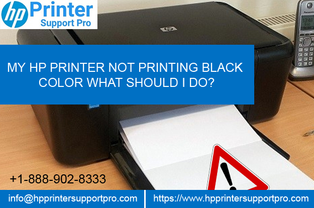 My Hp Printer Prints Color But Not Black | mountainstyle co