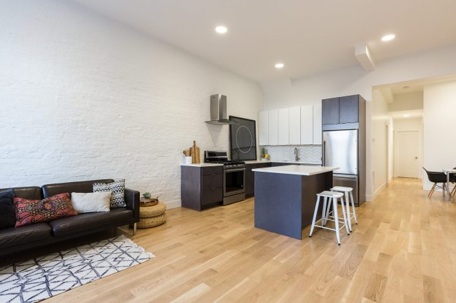 Image Of Completed Downtown Jersey City Nj Remodel