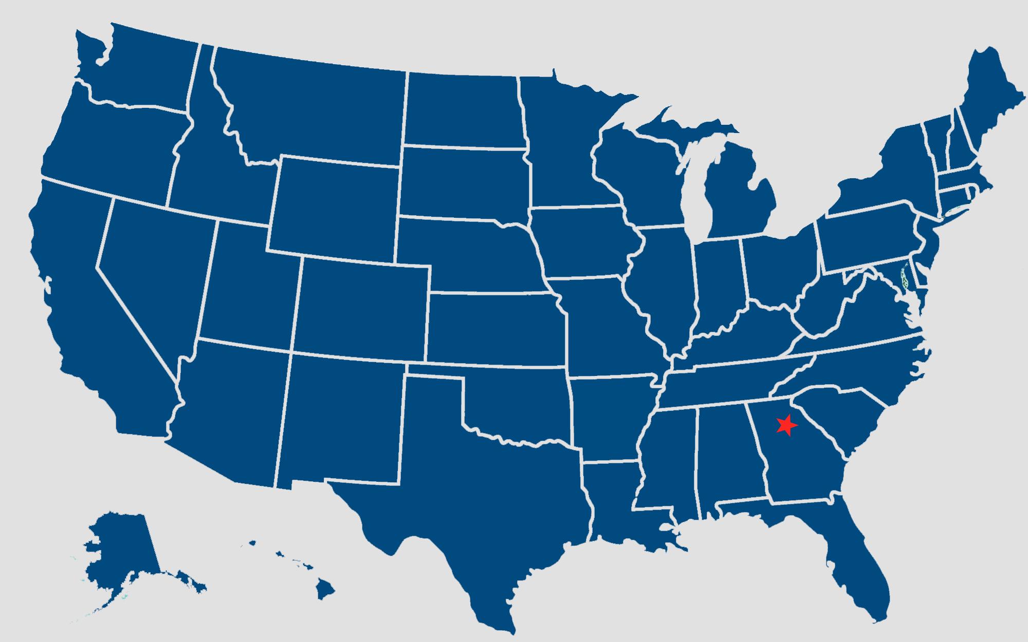 HPSI Coverage Map