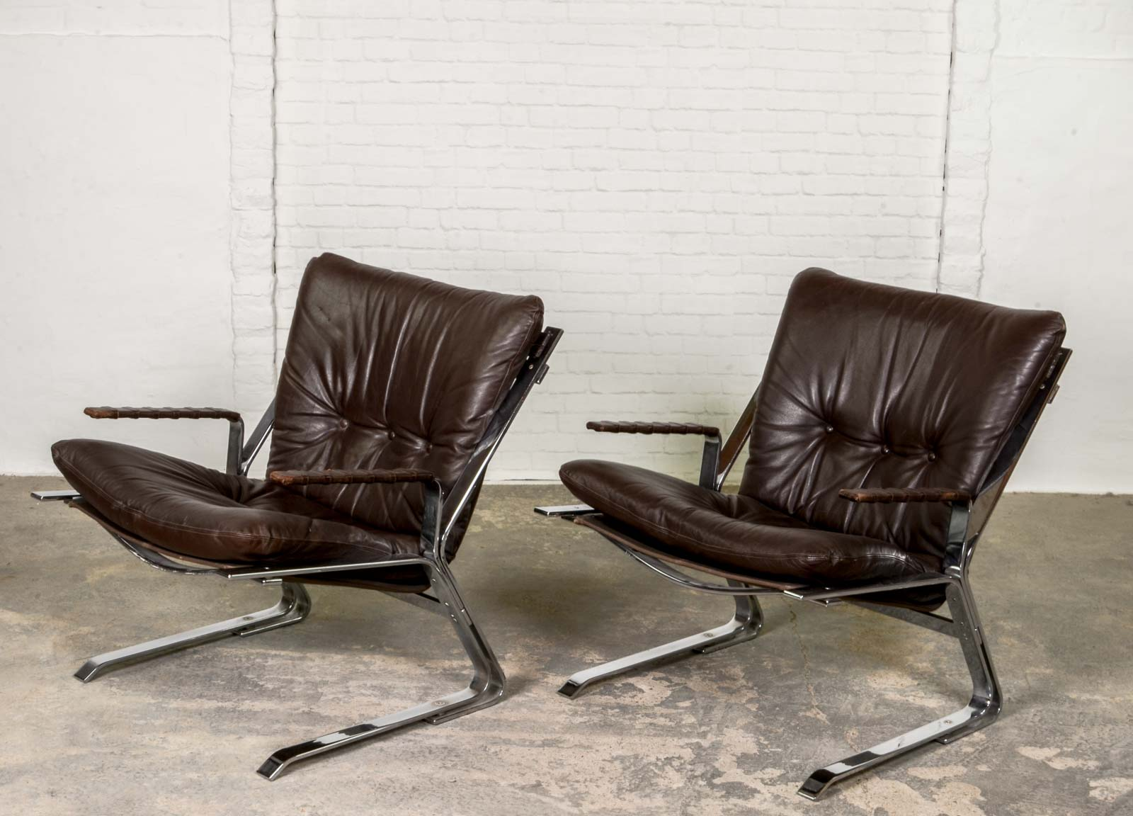 easy chair nadir steel chrome alera elusion swivel uk mid century 39pirate 39 chairs by elsa and nordahl