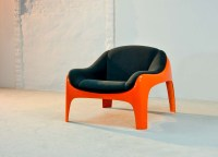 Iconic Italian Fiberglass Lounge Chair by Sergio Mazza for ...