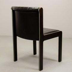 Quality Leather Dining Chairs Folding Foam Chair Mid Century Set Of Six High