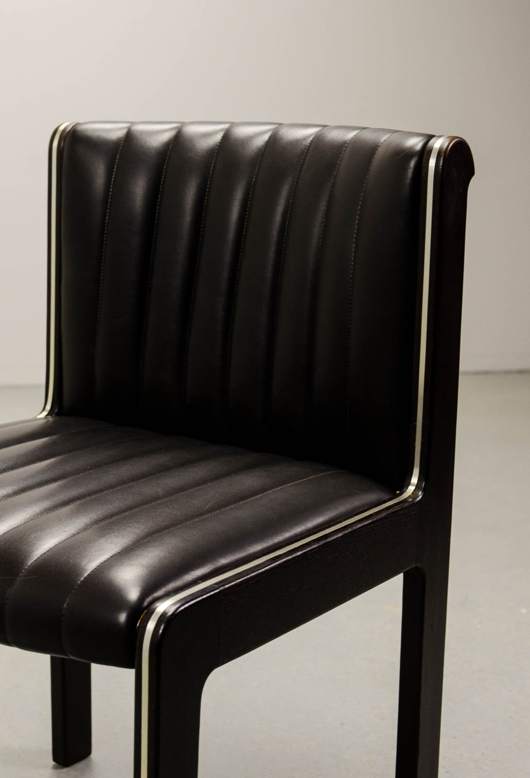 quality leather dining chairs home depot kitchen chair covers mid century set of six high