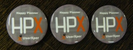 HPX徽章