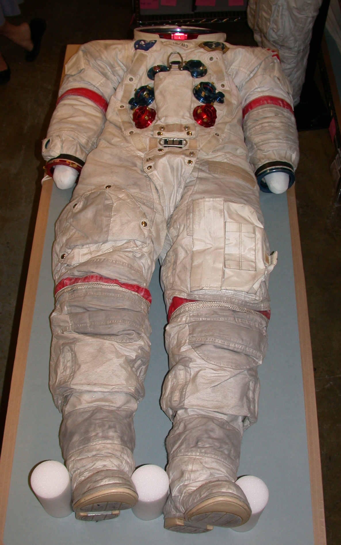 hight resolution of nasa space suit