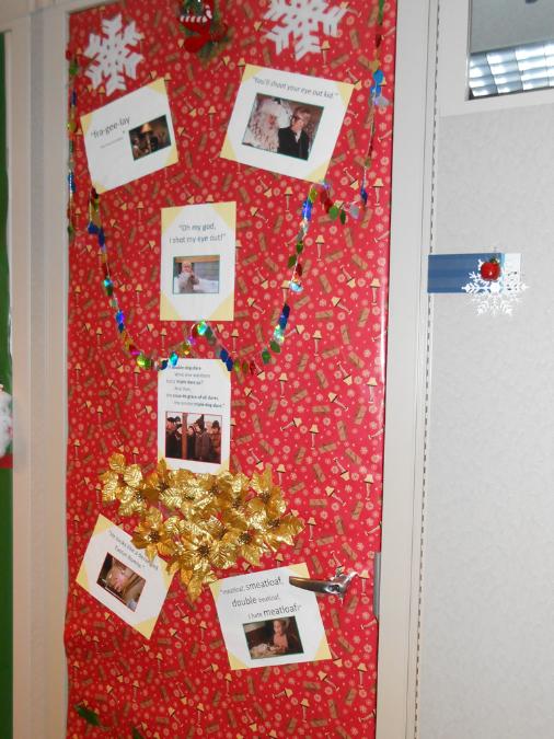 Door Decorating Christmas
