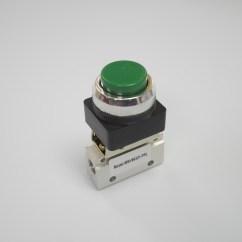 2 Way Vs 3 Valve 2003 Gmc Sierra 2500hd Radio Wiring Diagram With Raised Push Button In Green 1 8 Npt Msv86321ppl