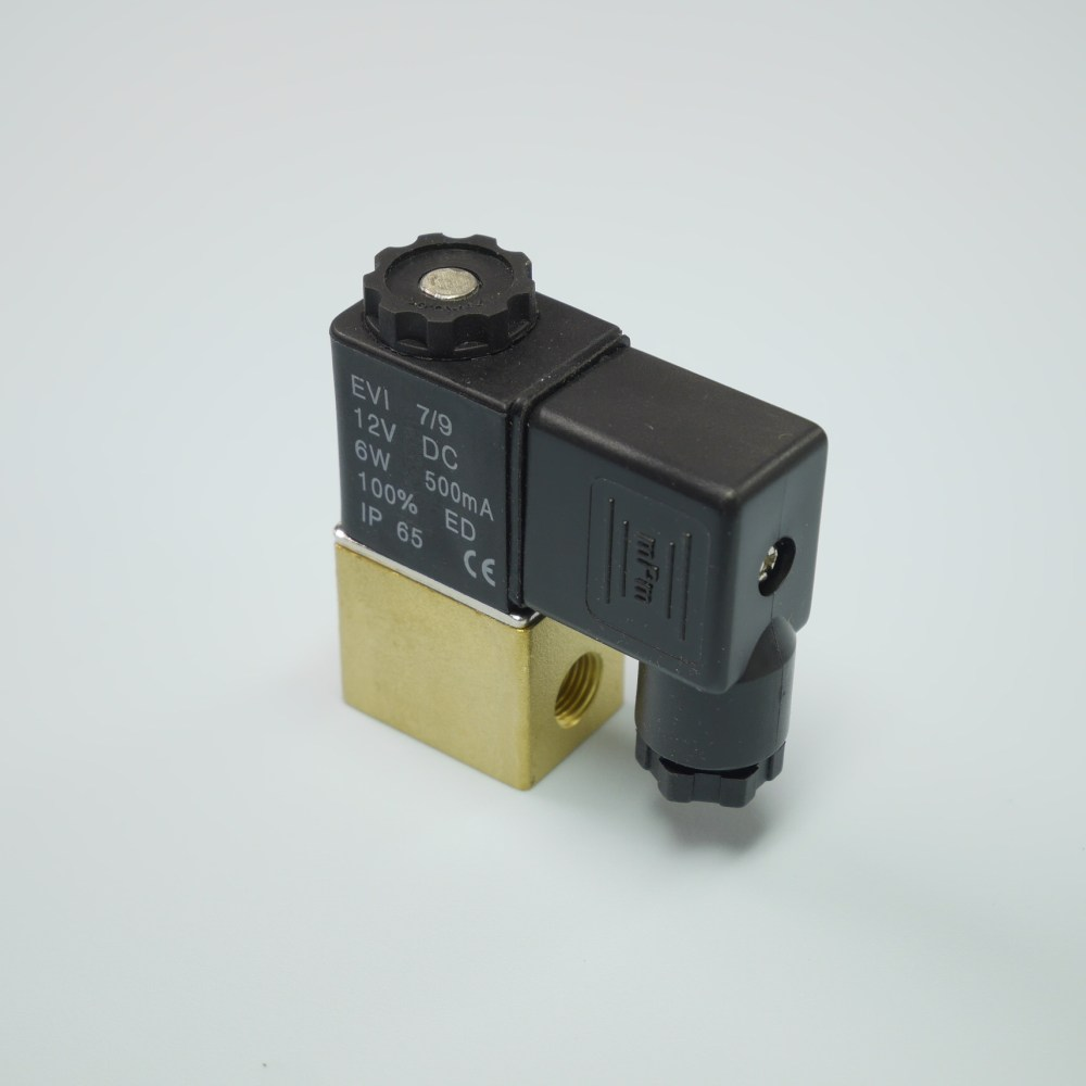 medium resolution of 2 2 way brass solenoid valve 1 8 npt dc12v pu220 01a npt dc12v