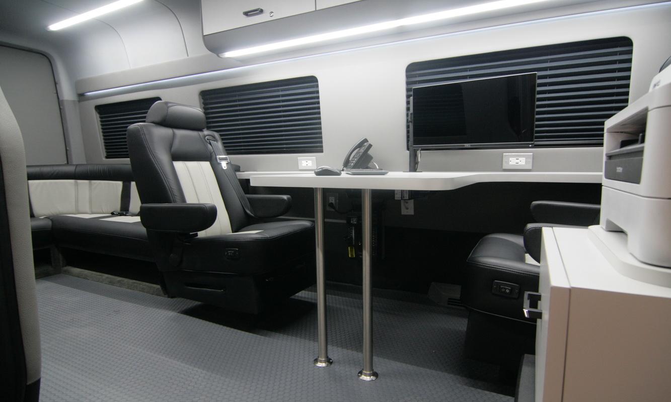 Mobile Office Conversion Vans HQ Custom Design