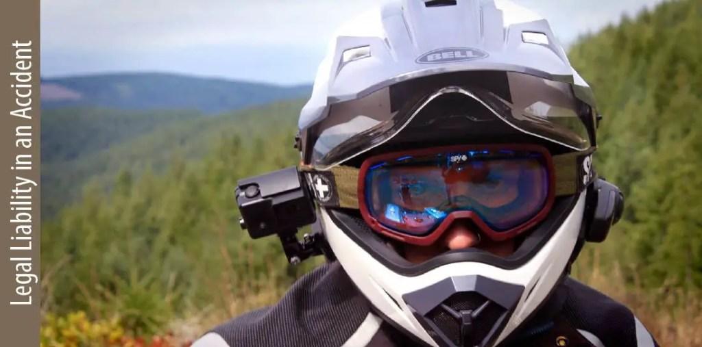are motorcycle helmet camera legal
