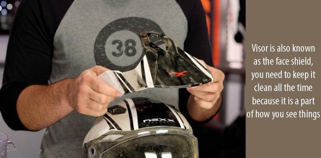 Why is Helmet Visor Care Important