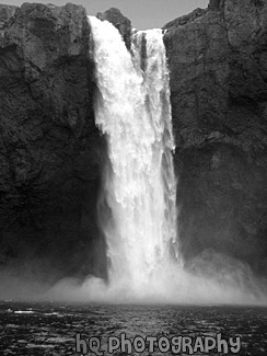 Snoqualmie Falls Wallpaper Snoqualmie Falls Waterfall Black And White Photo