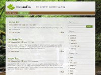 NatureFox - WordPress Theme