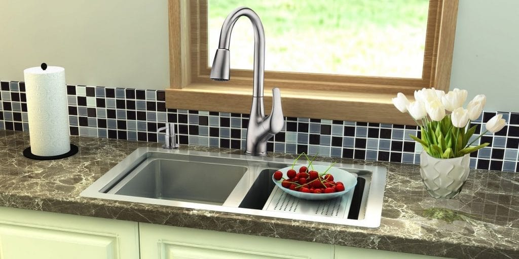 best kitchen faucet composite sink top 10 faucets in 2019 hqreview which are the when asked this question many people unable to provide an answer fact it comes as a surprise