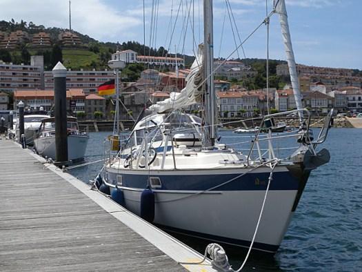 20150519 Baiona Harbour