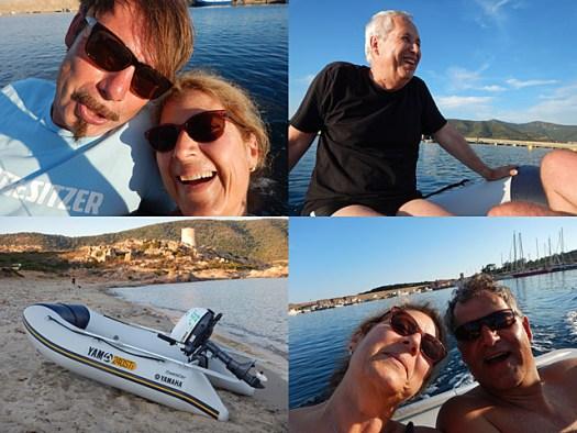 20150629 Porto Teulada Dinghy fun