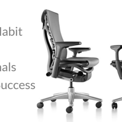 Embody Chair By Herman Miller Christmas Plaid Covers The One Habit Business Professionals Need For Success Posture Png
