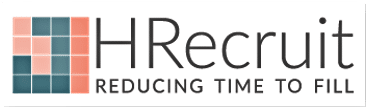 HRecruit Logo explaining how job seekers can connect with recruiters on LinkedIn