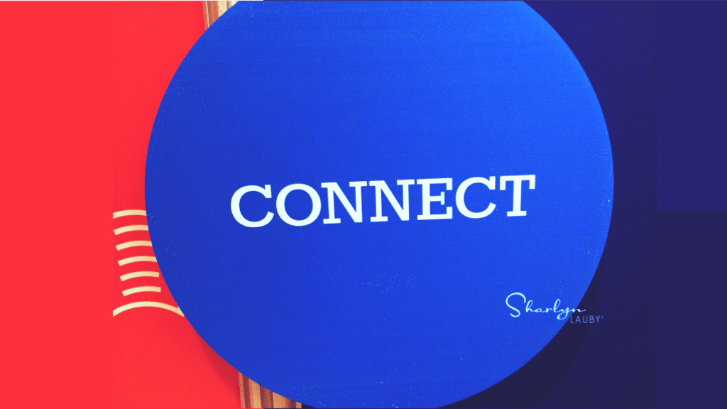 wall sign connect like connecting with recruiters on LinkedIn