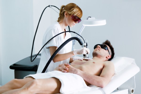 Laser hair removal for men at HRBR