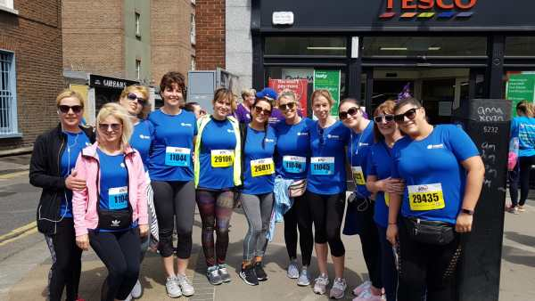 HRBR participate in women's mini marathon