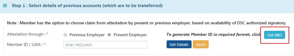 Solution: No Previous Employment Details Found Against This UAN in PF Transfer