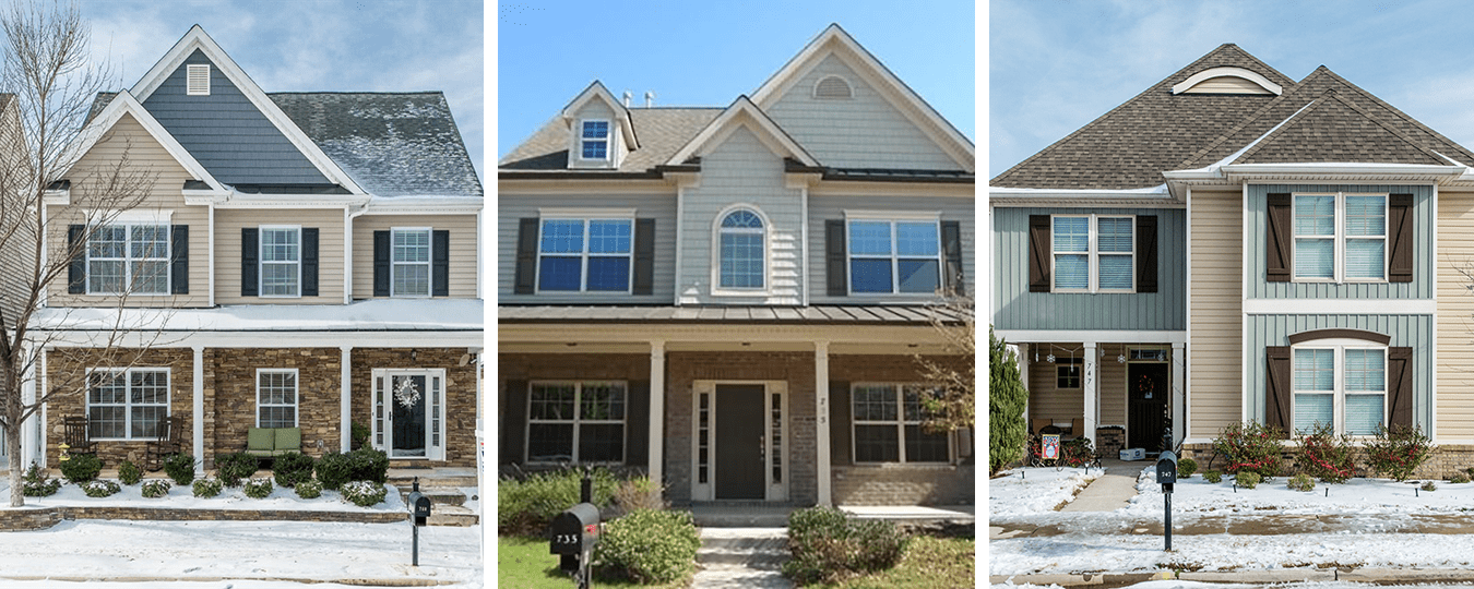 Six transactions on Keystone Park Drive in Morrisville handled by Hillman Real Estate Group