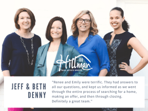 What Clients Say About Renee: Jeff and Beth Denny