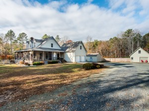 Under Contract: Three Bedroom Retreat on 10 Acres in Pittsboro