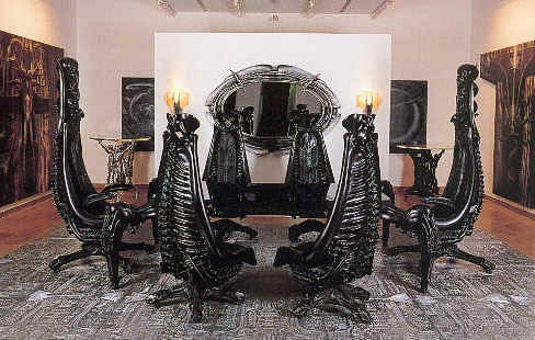 The Official WebSite Of HRGiger Exhibitions Furniture