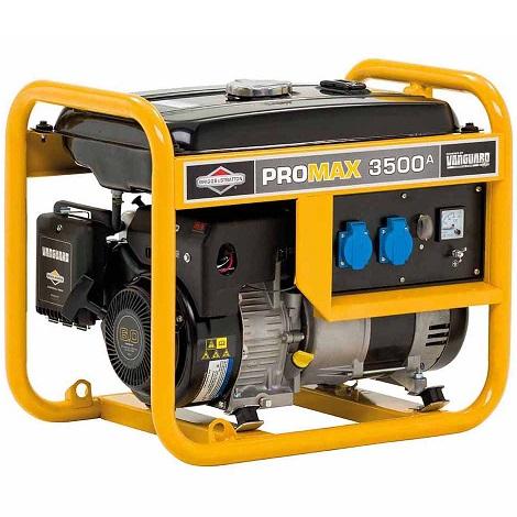 Генератор бензинов ProMax 3500A – 3.4KVA – 2.7kW