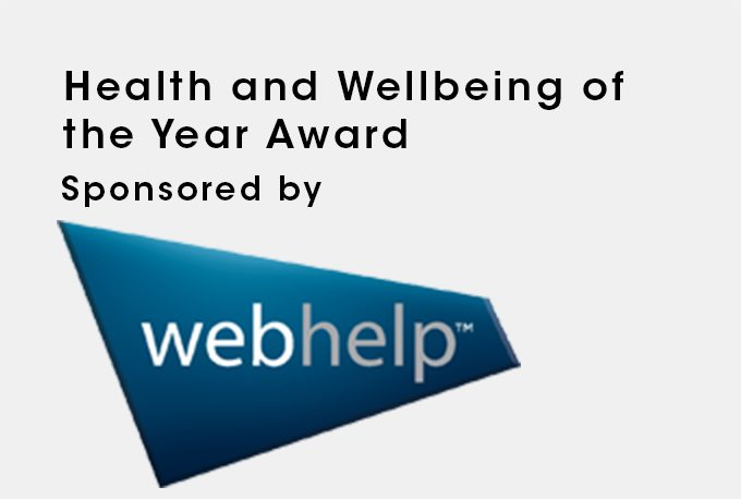 Health and Wellbeing of the Year Award image