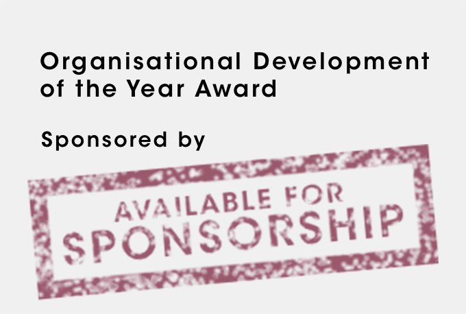Organisational Development of the Year Award