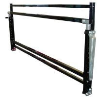 "Tire Rack, 96"", Wall Mount, Adjustable, Folds Closed"