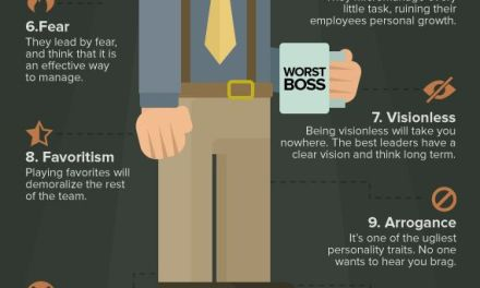 12 annoying characteristics of a horrible boss (infographic)